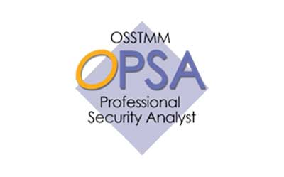 OPSA Professional Security Analyst